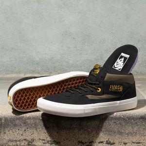 NEW Vans Half Cab Pro Military Sneakers
